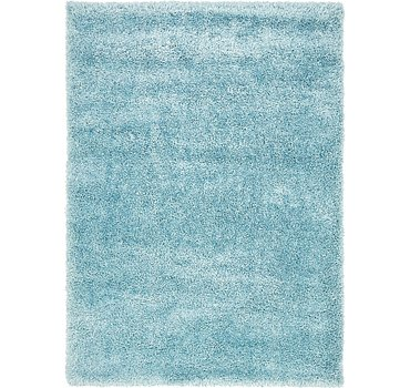 163x224 Luxe Solid Shag Rug
