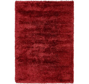 163x231 Luxe Solid Shag Rug