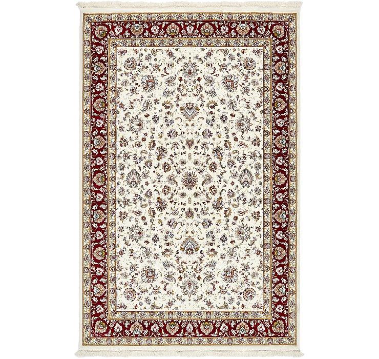 6' 5 x 9' Kashan Design Rug