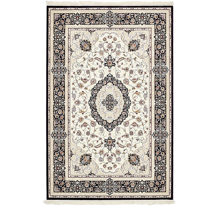 6' 5 x 9' 10 Tabriz Design Rug