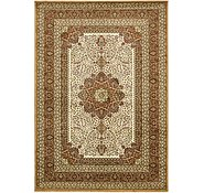 Link to 6' 6 x 9' 5 Mashad Design Rug