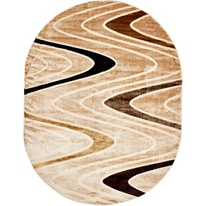 Ovals Brown Clearance  Rugs!