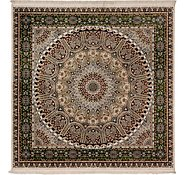 Link to 305cm x 305cm Nain Design Square Rug