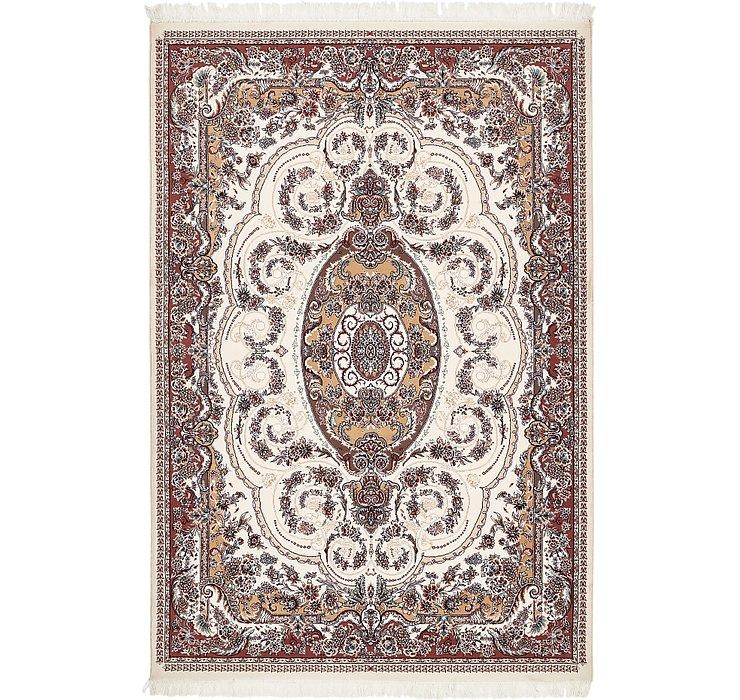 6' 8 x 10' Tabriz Design Rug