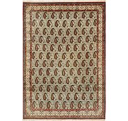 Link to 8' 2 x 11' 6 Qom Persian Rug