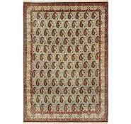 Link to 8' 2 x 11' 6 Qom Persian Rug