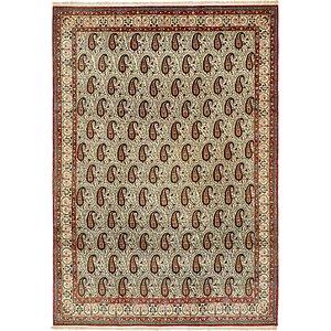 Unique Loom 8' 2 x 11' 6 Qom Persian Rug