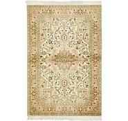 Link to 3' 5 x 5' 1 Tabriz Persian Rug