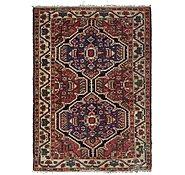 Link to 4' 11 x 6' 10 Heriz Persian Rug