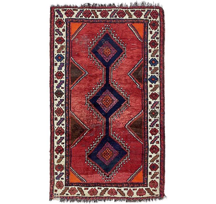 4' x 6' 9 Shiraz Persian Rug