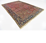 Link to 7' 11 x 11' 7 Heriz Persian Rug