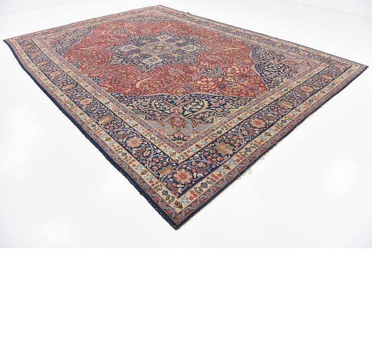 9' 8 x 13' 2 Isfahan Persian Rug