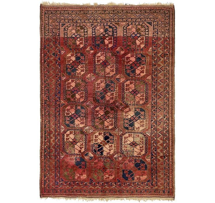 5' 8 x 8' 2 Afghan Ersari Rug