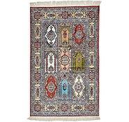 Link to 2' 6 x 4' Hereke Oriental Rug