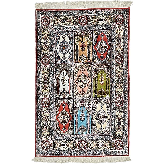 2' 6 x 4' Hereke Oriental Rug