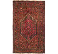 Link to HandKnotted 4' x 6' 7 Zanjan Persian Rug