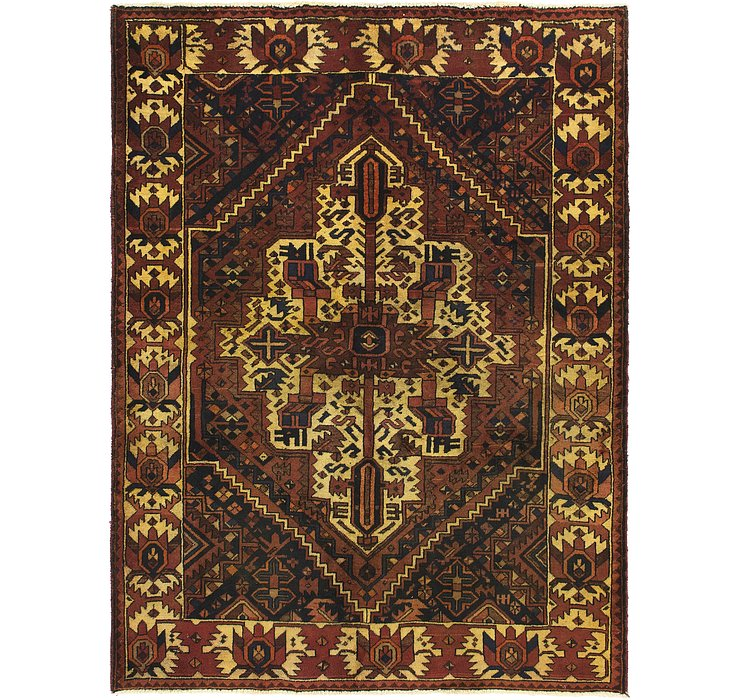 HandKnotted 4' 2 x 6' 7 Bakhtiar Persian Rug