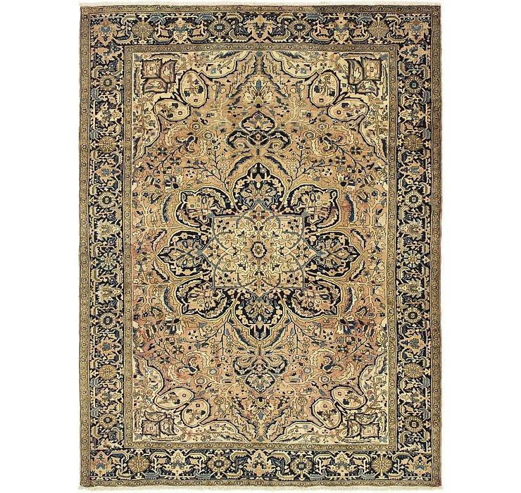 9' 8 x 12' 11 Heriz Persian Rug