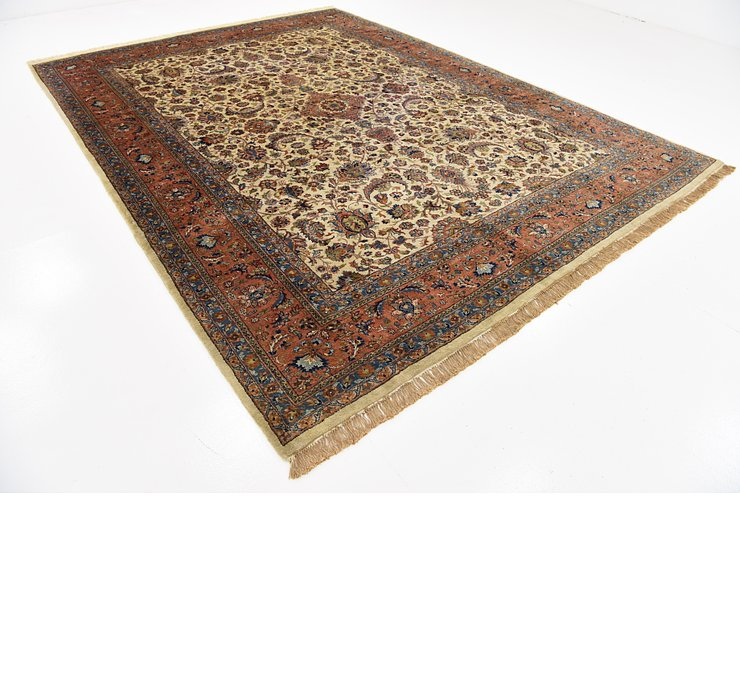 8' 7 x 11' 5 Sarough Persian Rug