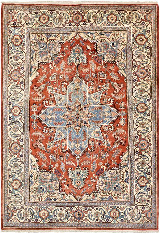Red 11 6 X 16 9 Heriz Persian Rug Persian Rugs Esalerugs