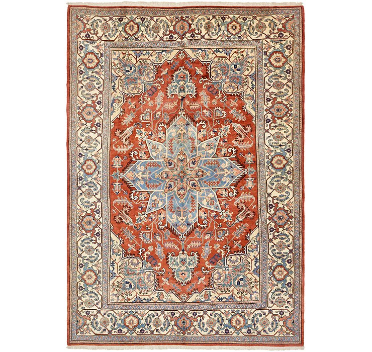 11' 6 x 16' 9 Heriz Persian Rug