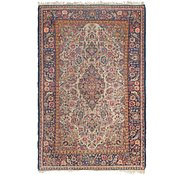 Link to 4' 5 x 6' 10 Kashan Persian Rug