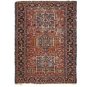 Link to 4' 10 x 6' 4 Gharajeh Persian Rug