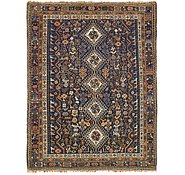 Link to 5' 3 x 6' 8 Shiraz Persian Rug