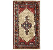 Link to 3' 6 x 6' 3 Hamedan Persian Rug