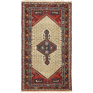 Unique Loom 3' 6 x 6' 3 Hamedan Persian Rug