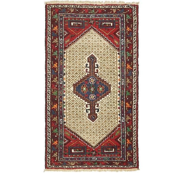 3' 6 x 6' 3 Hamedan Persian Rug