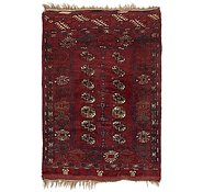 Link to 3' 7 x 5' 4 Afghan Akhche Rug