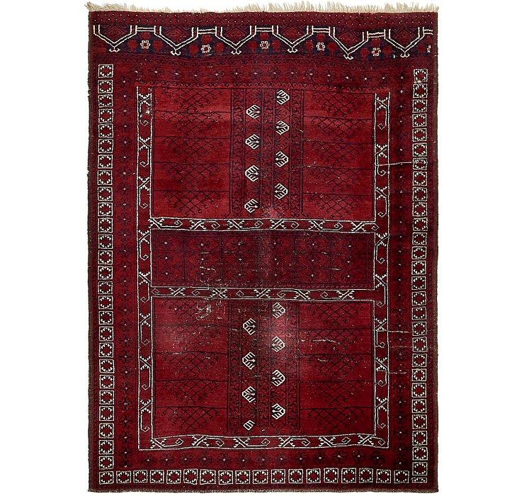 178cm x 245cm Afghan Akhche Rug