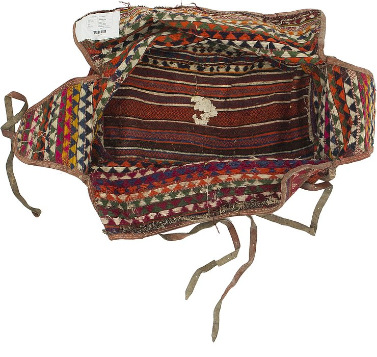5' 2 x 7' 1 Saddle Bag Persian Rug