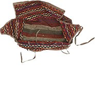 Link to 4' 8 x 7' 2 Saddle Bag Persian Rug