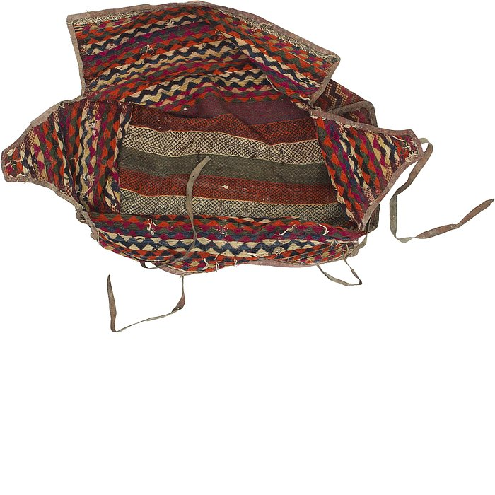 4' 8 x 7' 2 Saddle Bag Persian Rug