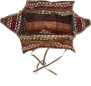 Link to 5' 9 x 7' 5 Saddle Bag Persian Rug