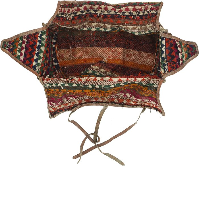 5' 9 x 7' 5 Saddle Bag Persian Rug
