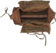 Link to 5' x 6' 4 Saddle Bag Persian Rug