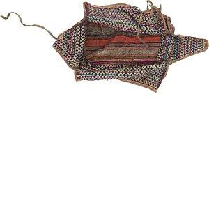 6' 7 x 8' 2 Saddle Bag Persian Rug