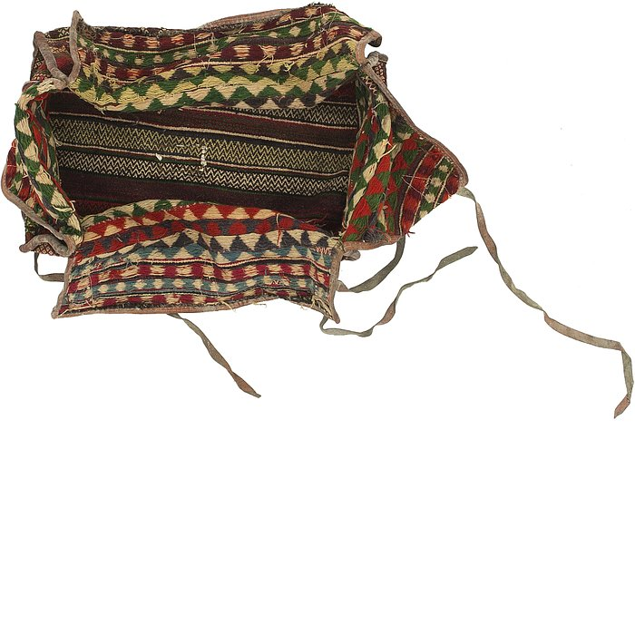 5' 7 x 7' 5 Saddle Bag Persian Rug