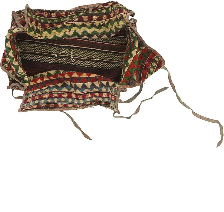 5' 7 x 7' 5 Saddle Bag Persian Rug