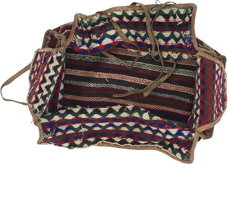5' 6 x 7' 10 Saddle Bag Persian Rug