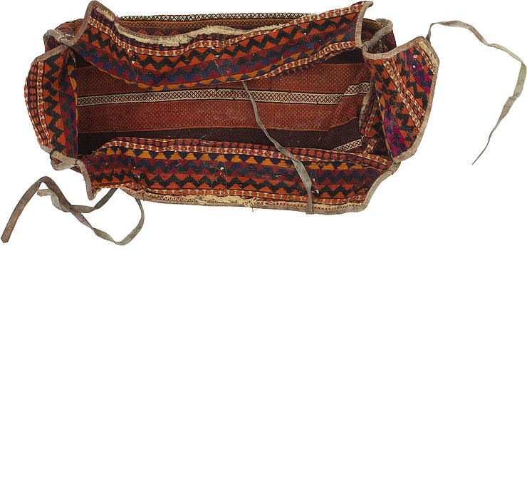 4' 4 x 7' 5 Saddle Bag Persian Rug