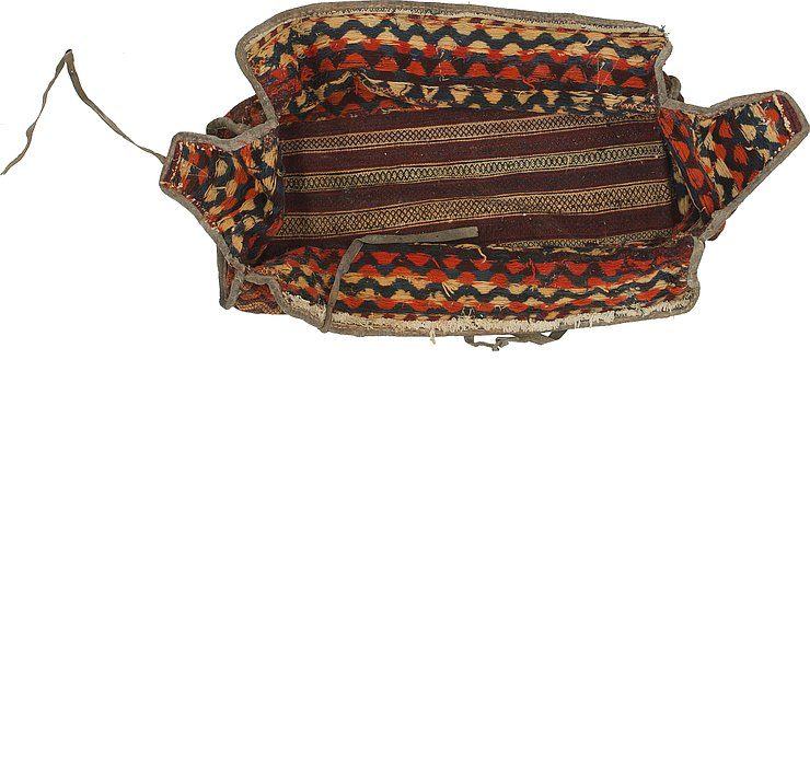 127cm x 225cm Saddle Bag Persian Rug