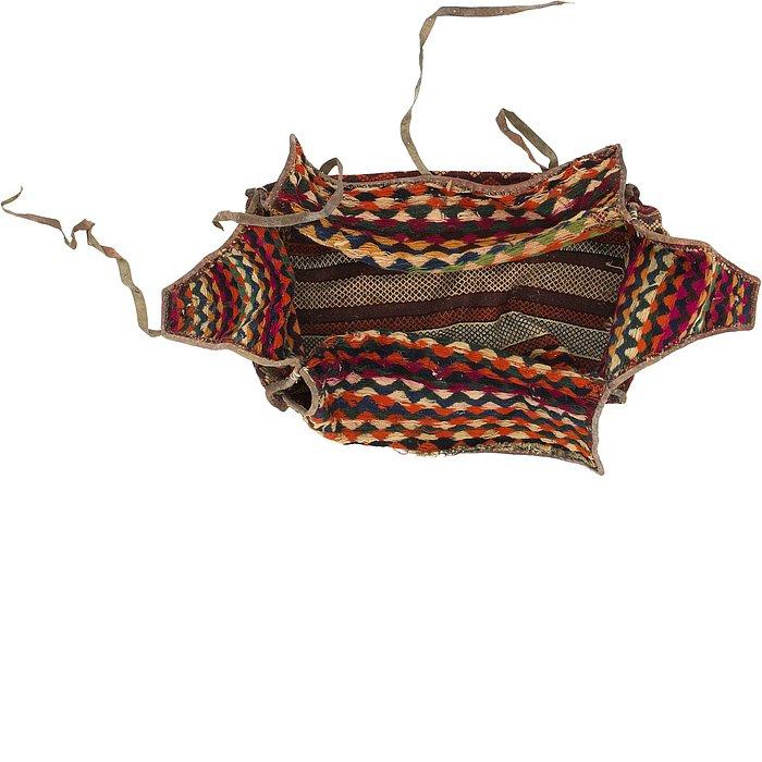 5' 3 x 7' 6 Saddle Bag Persian Rug