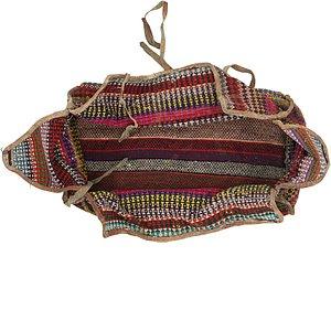 5' x 7' 6 Saddle Bag Persian Rug