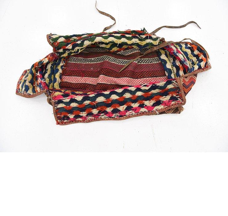 5' 1 x 6' 9 Saddle Bag Persian Rug