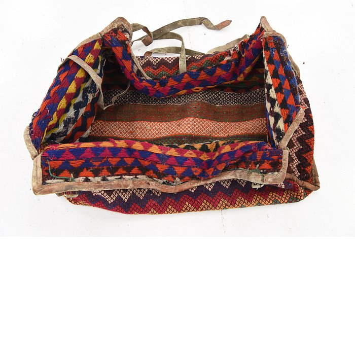 4' 3 x 7' 2 Saddle Bag Persian Rug