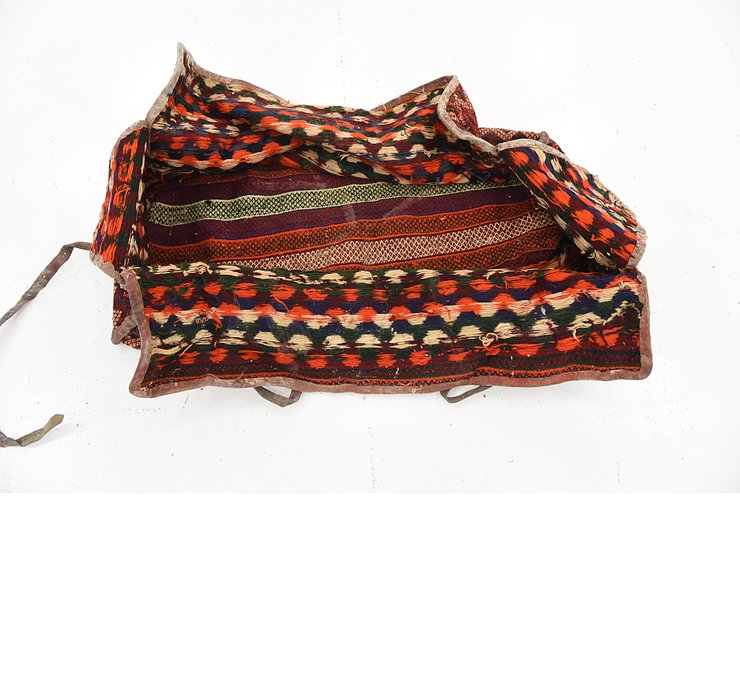 5' x 7' 9 Saddle Bag Persian Rug